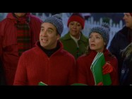 In addition to forgotten lines and goofy antics, the Bloopers reel includes some of Fred Armisen's ad-libs of strange Christmas carol requests.