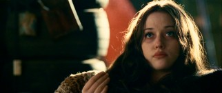 "Crack-smoking young prostitute Katerina Debrofkowitz (Kat Dennings) rubs her fingers together, a gesture loosely translated as ""Show me the money."""