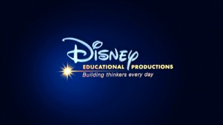 "The Disney Educational Productions logo and motto (""Building thinkers every day"") is found at the start of each of the division's DVDs."