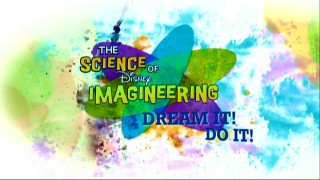 The title logo and motto for The Science of Disney Imagineering: Dream It! Do It!