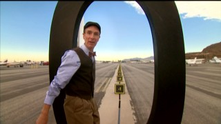Bill Nye discovers negative numbers on the other side of zero in this airport runway segment from Pre-Algebra, Volume 1.