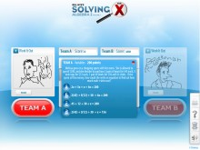 More fun than it sounds but less fun than it could be, the Interactive Whiteboard Application is a Flash-based game included on the Bill Nye's Solving for X DVDs.