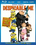 Despicable Me Blu-ray + DVD + Digital Copy cover art -- click to buy from Amazon.com