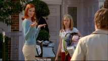 Marcia Cross plays Bree Van De Kamp, the most daedal of the leading characters.