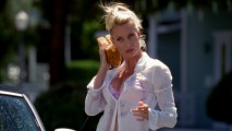 Edie Britt (Nicollette Sheridan) is the neighborhood sexpot.