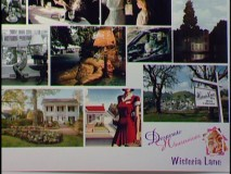 "Inspirational images are seen on board in ""Dressing Wisteria Lane."""