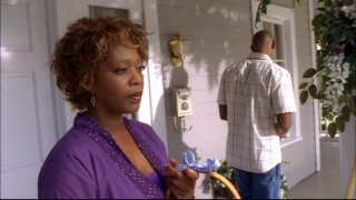 Could Betty Applewhite (Alfre Woodard) look any more suspicious?