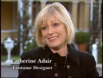 "Costume designer Catherine Adair gets a tribute in ""Fashion & Couture""."