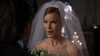 "The Bride to ""Bree"" (Marcia Cross) has to include an interrogation in her vows."