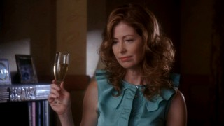 Katherine Mayfair (Dana Delany) shakes things up with her return to Wisteria Lane in Season Four.