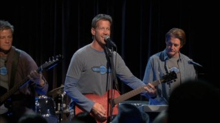 Tom (Doug Savant), Mike (James Denton), and Orson (Kyle MacLachlan) start up a band with Dave (not pictured because he's up to no good elsewhere).