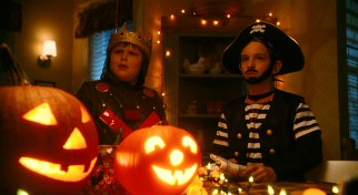 halloween is observed by a highly visible knight and a bearded pirate