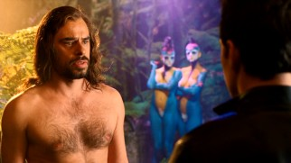 Jemaine Clement, half of New Zealand's funny Flight of the Conchords duo, plays Kieran Vollard, an artist with an ego and a wild side.