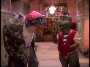 Robbie's friend Spike (a questionable influence) is one of the few dinosaurs outside of the Sinclair Family to appear in multiple episodes.