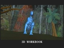 This scene progression illustrates the  3D workbook stage of production.