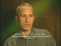 "James Newton Howard talks about the ""Music."""
