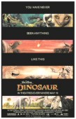 "A ""Dinosaur"" poster from the Print Advertising gallery."