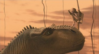 Aladar comforts Zini after another mating session goes poorly.
