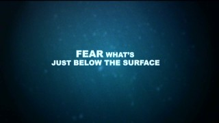 "Fear what's just below the surface, reads the provocative tagline for Syfy's ""Dinoshark"" in its included trailer."