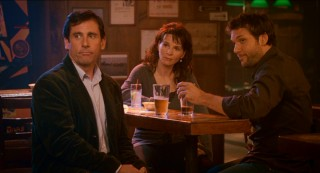"The unspoken love triangle at the heart of ""Dan in Real Life"" puts Marie in between brothers Dan and Mitch (Dane Cook)."
