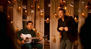 "The Burns brothers' acoustic duet has got to be the saddest performance of Pete Townshend's fine song ""Let My Love Open the Door"" yet put on film."