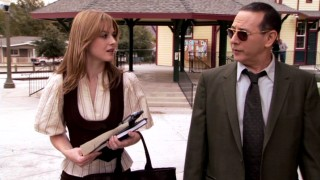 In a far cry from Pee-wee Herman, Paul Reubens plays a jaded former alcoholic reporter who advises the ambitious Willa (Alexandra Breckinridge) on a small-town murder mystery.