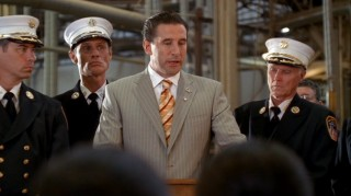 "No, this isn't a ""JAG""/""30 Rock"" crossover... that's William Baldwin as politician Patrick Darling in ""Dirty Sexy Money."""