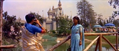 How on earth did these sari-clad Disneyland visitors think to get a photo in front of the castle without a Kodak Picture Spot placard there?