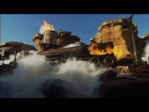 One of several non-anamorphic bonus features, this clip takes a quick look at the Hollywood Studios Backlot Tour's Catastrophe Canyon.