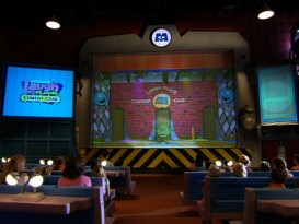 "Relatively new attraction Monsters, Inc. Laugh Floor (a.k.a. MILF) gets a disproportionate amount of attention in ""Walt Disney World Resort: Behind the Scenes."""