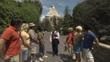 Travel Channel cameras were granted exclusive access to Disneyland's Blocking Walkways tour.