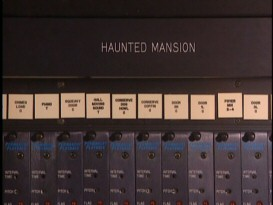 A secret glimpse at the magic behind the scenes of the Haunted Mansion!