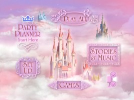 Disney Princess Party: Volume One DVD Menu