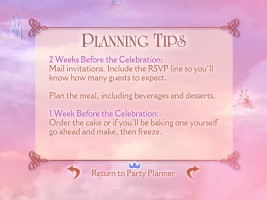 Planning Tips for the Princess Party Planner