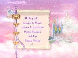 Disney Princess Party: Volume Two DVD Menu
