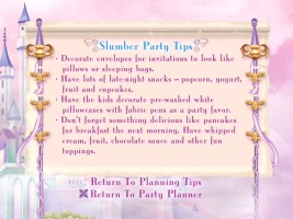 Party Planning Tips in the Party Planner section.