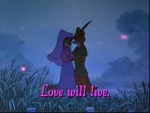 "Maid Marian sings ""Love"", a song that has dated far more than its concepts."