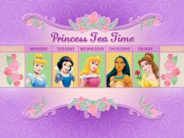 A princess for tea every working day of the week? Sign me up!