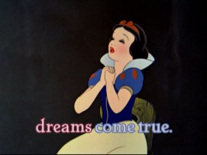 Julie Andrews would agree with Snow White.