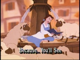 The provincial sheep will take your word for it, Belle.