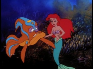 Now in concert: Ariel and the blowfish!