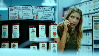 Ashley (Sarah Roemer) makes the most of her freedom by trailing a suspicious neighbor to the hardware store.
