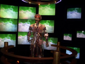 Tom Morrow appears in the spinning world of wonder known as Innoventions.