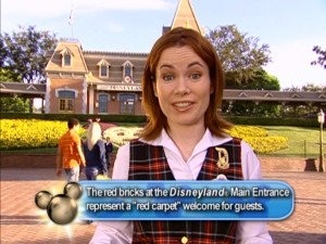 Karen is your ever-chipper host to Disneyland.