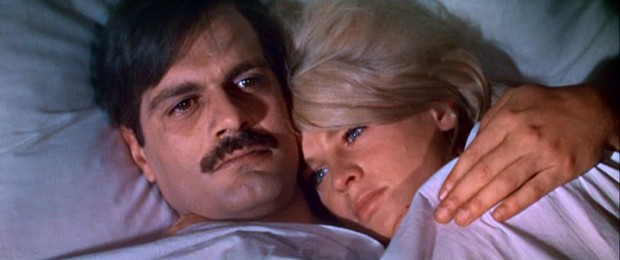 "Adulterous protagonists Yuri (Omar Sharif) and Lara (Julie Christie) cuddle in bed, earning ""Doctor Zhivago"" seventh place on AFI's ""100 Years... 100 Passions"" countdown."