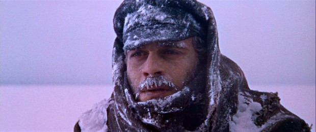 Braving snowy Russia to desert the Cossacks leaves Doctor Zhivago with one icy moustache!