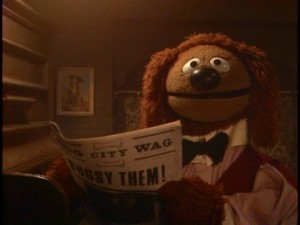 Rowlf the Dog supplies jokes, narration and, of course, some piano-playing.