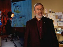 "Leonard Maltin gives one apologetic introduction for all the shorts instead of many individual ones at the beginning of ""From the Vault."""