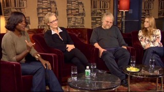 "The Oscar-nominated foursome of ""Doubt"" -- Viola Davis, Meryl Streep, Philip Seymour Hoffman, and Amy Adams -- let their hair out to talk with an Entertainment Weekly writer."