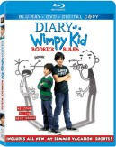 Diary of a Wimpy Kid: Rodrick Rules Blu-ray + DVD + Digital Copy cover art -- click to buy combo pack from Amazon.com